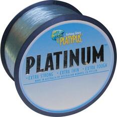 Platypus Platinum Mono Line 500m Grey 500m 8lb, Grey, bcf_hi-res