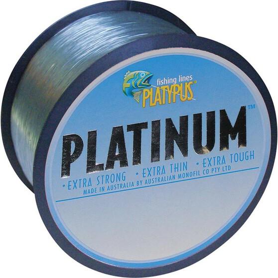 Platypus Platinum Mono Line 500m Grey 500m 10lb, Grey, bcf_hi-res