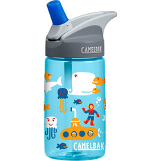 Camelbak Kids' Eddy Drink Bottle 400ml Blue / Red, Blue / Red, bcf_hi-res