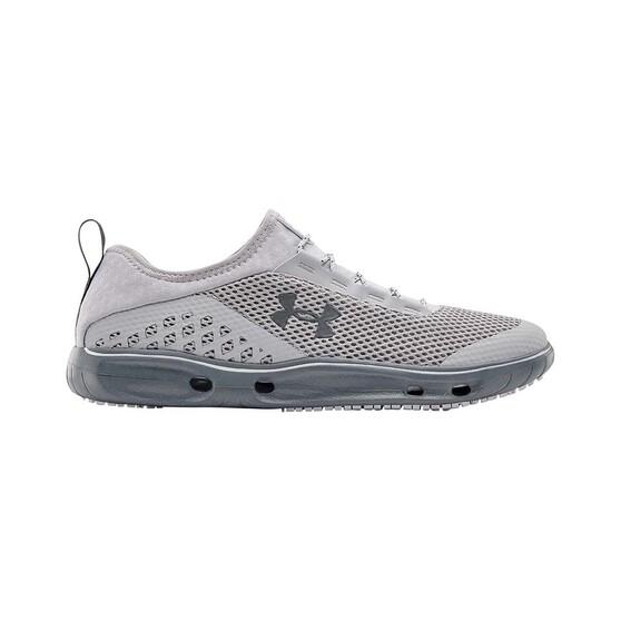 Under Armour Mens Kilchis Aqua Shoes, Grey, bcf_hi-res