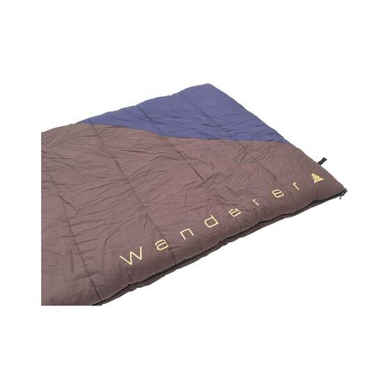 Wanderer Grand Macleay +6.9C Cotton Hooded  Sleeping Bag, , bcf_hi-res