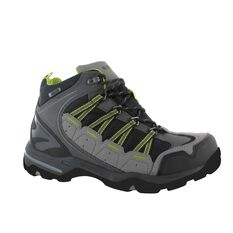 Hi-Tec Men's Forza Lite Hiking Boots Charcoal / Lime / Black US 8, Charcoal / Lime / Black, bcf_hi-res