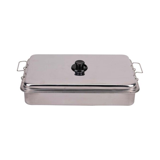 Pryml Deluxe Stainless Steel Two Burner Fish Smoker, , bcf_hi-res