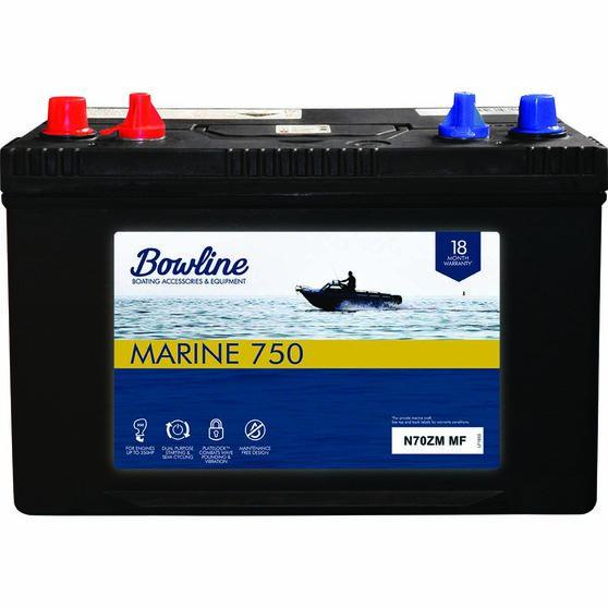 Bowline N70ZM Marine Battery 750, , bcf_hi-res