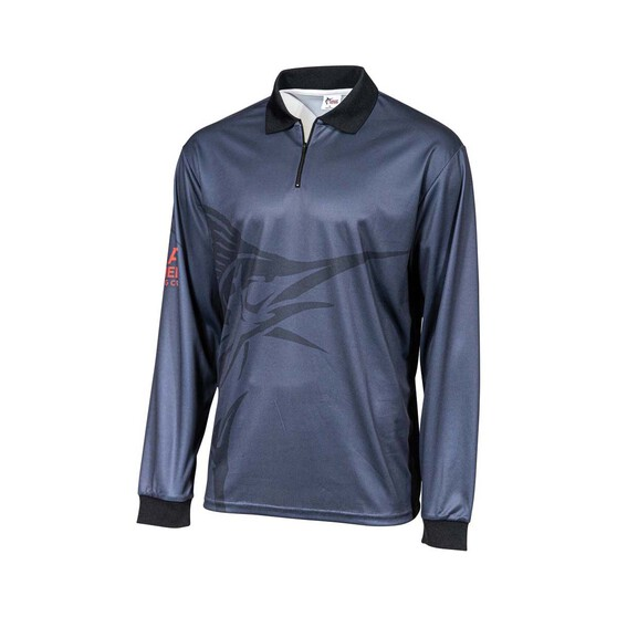 The Great Northern Brewing Co. Men's Sublimated Polo, Grey, bcf_hi-res