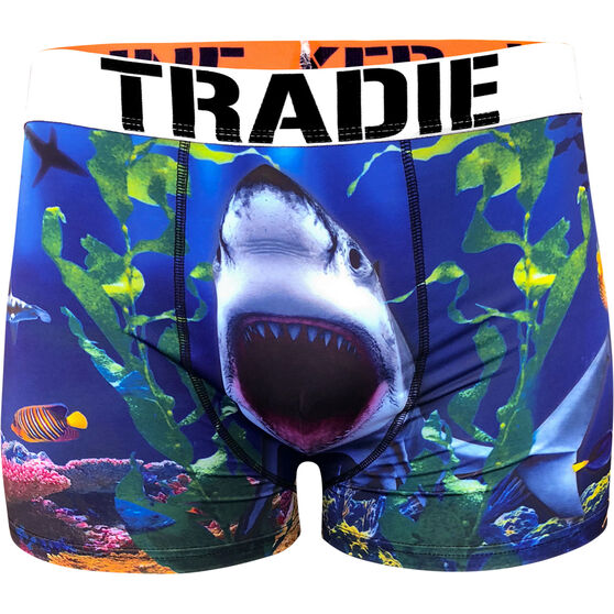 Tradie Men's Bite Me Trunks, Bite Me, bcf_hi-res