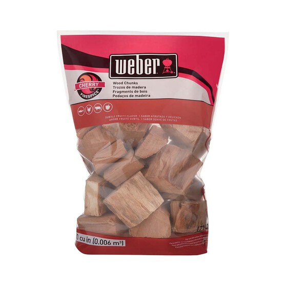 Weber Cherry Wood Chunks 1.8kg, , bcf_hi-res