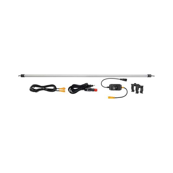 Korr LED Light Bar with Diffuser - Orange / White 100cm, , bcf_hi-res