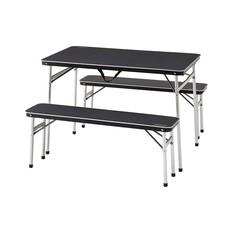 Coleman Aluminium Table and Bench Set, , bcf_hi-res