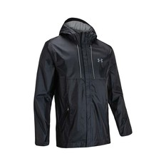 Under Armour Men's Cloudstrike Shell Jacket Black / Pitch Grey S, Black / Pitch Grey, bcf_hi-res