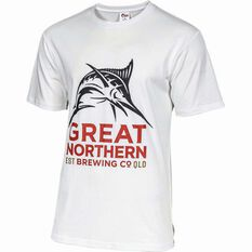 The Great Northern Brewing Co. Men's Logo Tee, White, bcf_hi-res