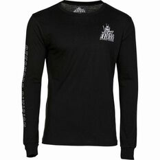 Men's Offshore UV30 Long Sleeve Tee Black S, Black, bcf_hi-res