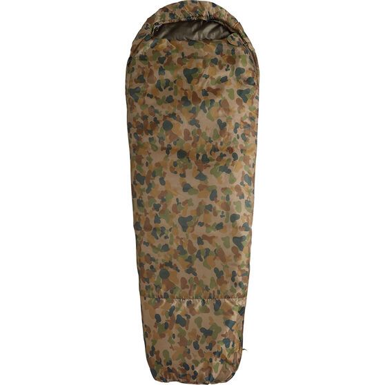 Caribee Auscam Deploy 1300 Hooded Sleeping Bag, , bcf_hi-res