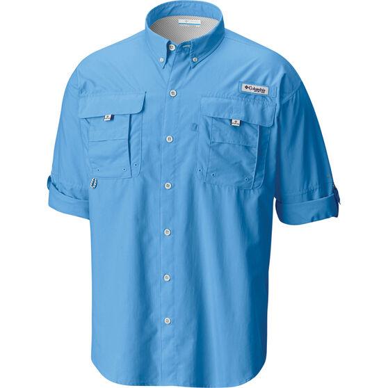 Columbia Men's Bahama II Long Sleeve Shirt, Yacht, bcf_hi-res