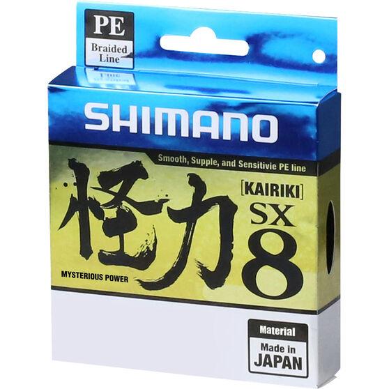 Shimano Kairiki SX 8 Green Braid Line 300m 50lb, , bcf_hi-res