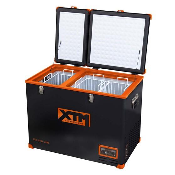 XTM100 Dual Zone Fridge Freezer, , bcf_hi-res