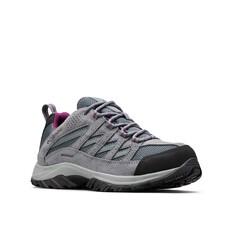 Columbia Women's Crestwood Low Hiker Shoes Graphite / Wild Iris 6, Graphite / Wild Iris, bcf_hi-res