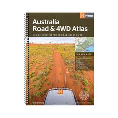 Hema Australia Road and 4WD Atlas Spiral Book, , bcf_hi-res