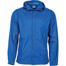 OUTRAK Men's Packaway Rain Jacket Blue S, Blue, bcf_hi-res