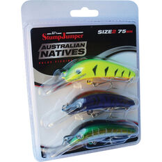 JJS Lures StumpJumper Australian Natives Value Pack 75mm, , bcf_hi-res