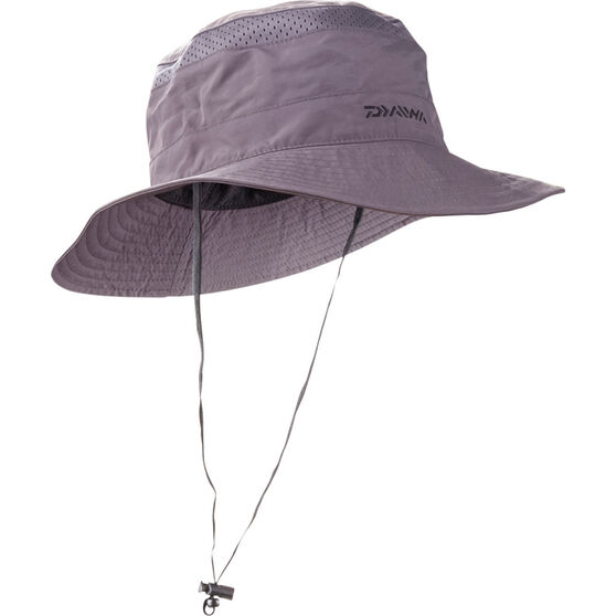 Daiwa Men's Mesh Booney Hat, Dark Grey, bcf_hi-res