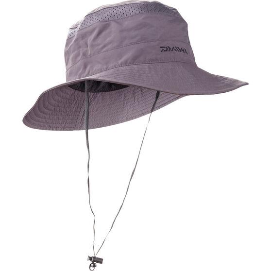 Daiwa Men's Mesh Booney Hat Dark Grey S / M, Dark Grey, bcf_hi-res
