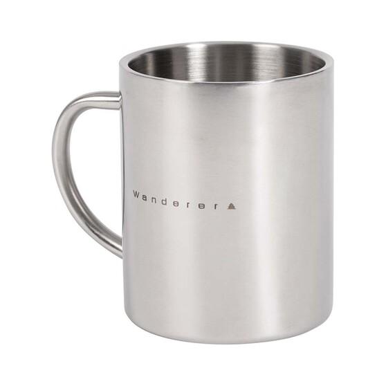 Wanderer Stainless Steel Mug 400ml, , bcf_hi-res