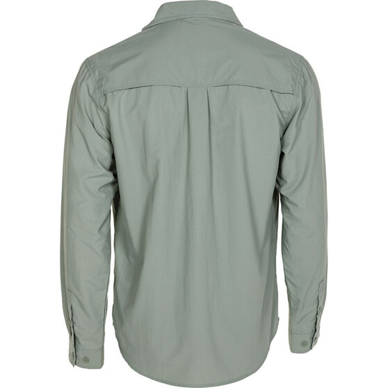 Explore 360 Men's Vented Long Sleeve Fishing Shirt Iron 4XL, Iron, bcf_hi-res