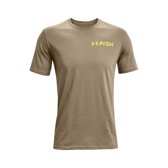 Under Armour Men's Bass Strike Graphic Tee, Bayou / Thistle Green, bcf_hi-res