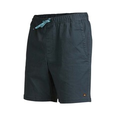 Quiksilver Waterman Men's Cabo Shore Cotton 19 Shorts Navy Wash 30, Navy Wash, bcf_hi-res