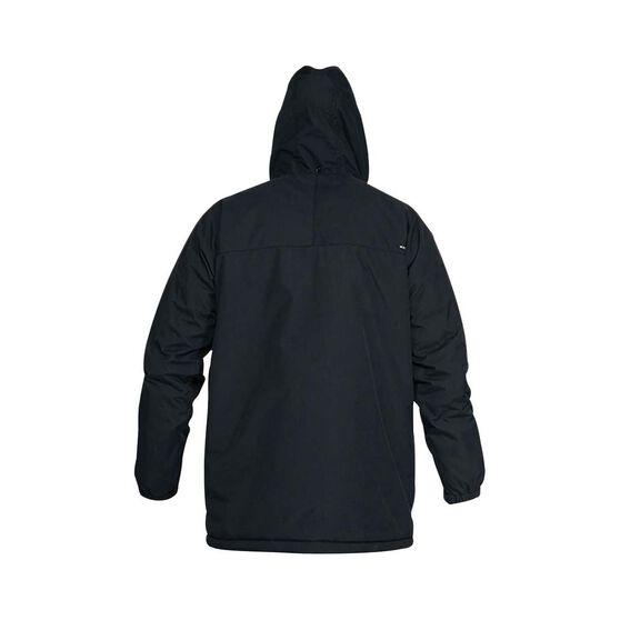 Quiksilver Waterman Men's Swell Chasers Mac Jacket, Black, bcf_hi-res