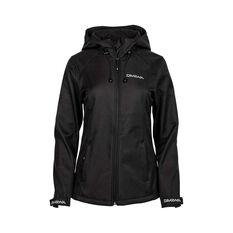 Daiwa Trekker  Softshell Jacket - Womens, Black, 8 Black 8, Black, bcf_hi-res