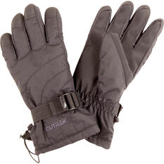 Men's Swipe Snow Gloves Black 8.5, Black, bcf_hi-res