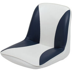 Blueline Tinnie Comfort Boat Seat Blue / White, Blue / White, bcf_hi-res