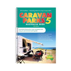 Hema Caravan Park Australia Wide 5th Edition Reference Book, , bcf_hi-res