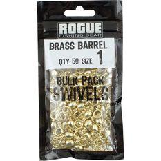 Rogue Brass Barrel Swivel 50 Pack, , bcf_hi-res