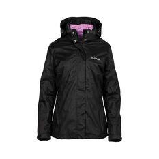 OUTRAK 3 in 1  Jacket - Womens, Black, 8 Black 8, Black, bcf_hi-res