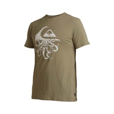 Quiksilver Waterman Men's Imaginary Seas Tee Deep Lichen S, Deep Lichen, bcf_hi-res
