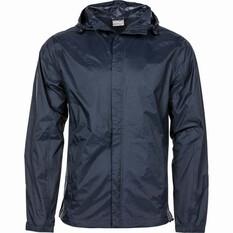 OUTRAK Men's Packaway Rain Jacket Night S, Night, bcf_hi-res
