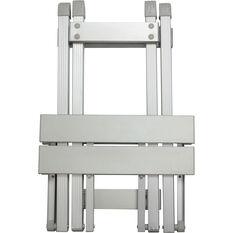 Aluminium Folding Stool, , bcf_hi-res