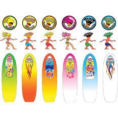 Wahu Surfer Dudes Toy Surfboard, , bcf_hi-res