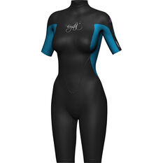 Mirage Women's Springsuit Wetsuit Blue / Black 6, Blue / Black, bcf_hi-res