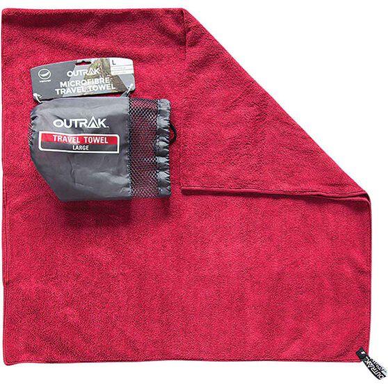 Outrak Microfibre Towel - Large, , bcf_hi-res