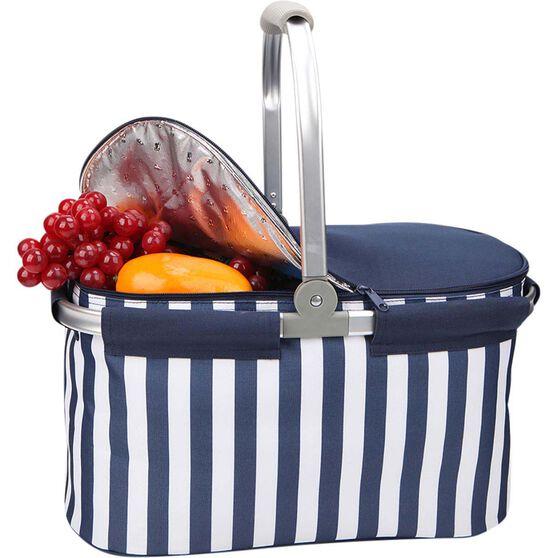 Wanderer Folding Cooler Picnic Basket, , bcf_hi-res