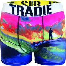 Tradie Men's Oh Snap Trunk Print S, Print, bcf_hi-res