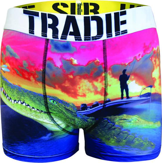Tradie Men's Oh Snap Trunk, Print, bcf_hi-res