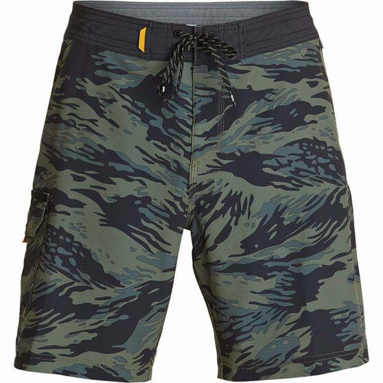 Quiksilver Men's Angler 20 Beach Shorts, Beetle, bcf_hi-res