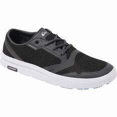 Quiksilver Men's Amphibian Plus Aqua Shoes Black / Grey / White 8, Black / Grey / White, bcf_hi-res
