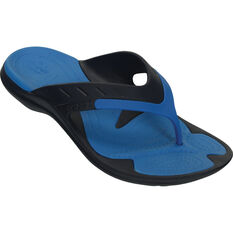 Crocs Men's Modi Sport Thongs Navy / Ocean M8 / W10, Navy / Ocean, bcf_hi-res