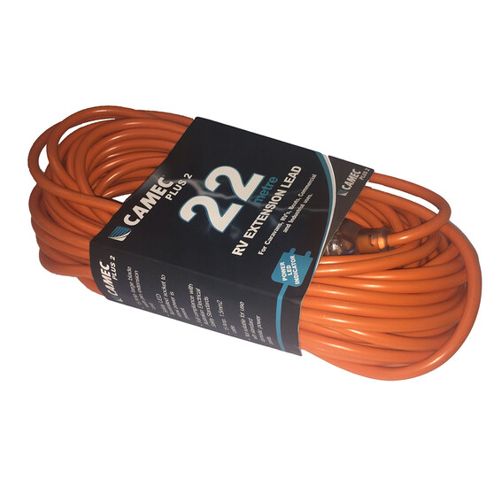 Camec 22M 15Amp Extension Lead, , bcf_hi-res